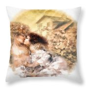 Last Day Of Summer Throw Pillow