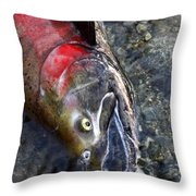 Last Gasp Throw Pillow