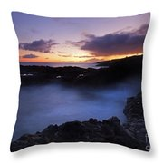 Last Light Over The South Shore Throw Pillow