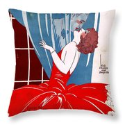 Last Night I Dreamed You Kissed Me Throw Pillow