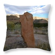 Last Of The Old Cowboys Throw Pillow