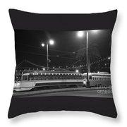 Last Streetcar Throw Pillow