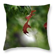 Last To Fall Throw Pillow