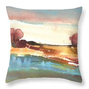 Late Afternoon 38 Throw Pillow