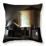 Late Night Drink Throw Pillow