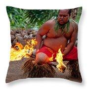 Lau Pele Throw Pillow