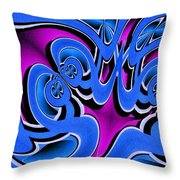 Laugh Throw Pillow