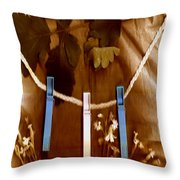 Laundry Day Popart Throw Pillow