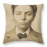Laura Bullion (1876-1961) Throw Pillow