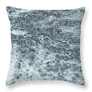Lava Abstract Throw Pillow