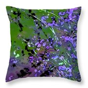 Lavender 2 Throw Pillow