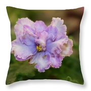 Lavender Frost Throw Pillow