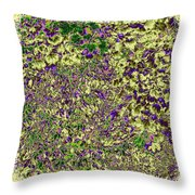 Lavish Leaves 6 Throw Pillow