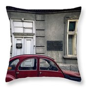 Lawyer. Belgrade. Serbia Throw Pillow