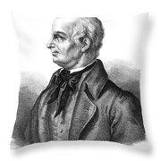 Lazzaro Spallanzani, Italian Biologist Throw Pillow