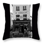Le Consulat Throw Pillow