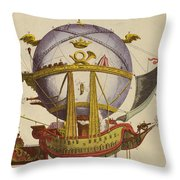 Le Minerve Throw Pillow