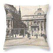 Le Palais De Justice Throw Pillow
