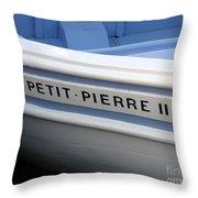 Le Petit Pierre II Throw Pillow