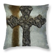 Lead Me To The Cross 1 Throw Pillow