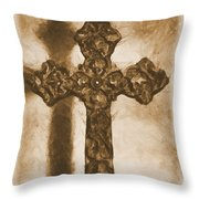 Lead Me To The Cross 2 Throw Pillow