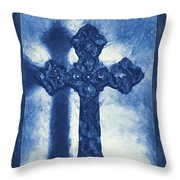 Lead Me To The Cross 3 Throw Pillow