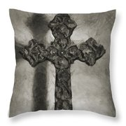 Lead Me To The Cross 4 Throw Pillow