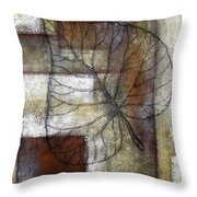 Leaf Whisper 1 Throw Pillow