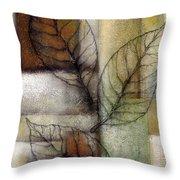 Leaf Whisper 2 Throw Pillow