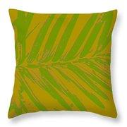 Leafy Art I Throw Pillow