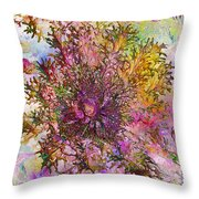 Leafy Greens Throw Pillow