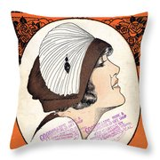 Leave Me With A Smile Throw Pillow