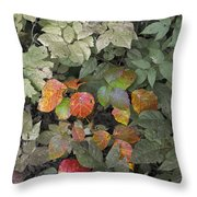 Leaves Of Three   Let It Be Throw Pillow