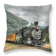 Leaving Now Throw Pillow