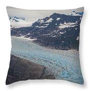 Leconte Glacial Flow Throw Pillow