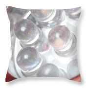 Led Flashlight Throw Pillow