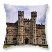Leeds Castle Throw Pillow