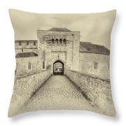 Leeds Castle Nostalgic 3 Throw Pillow