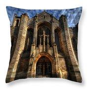 Leeds Cathedral Throw Pillow