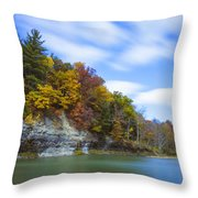 Lees Landing Throw Pillow