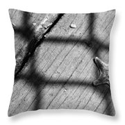 Left Behind And Forgotten Throw Pillow