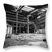 Left In Chaos Throw Pillow