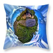 Left Or Right Throw Pillow