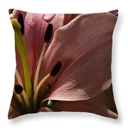 Leftover Lily Throw Pillow