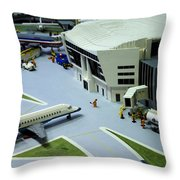 Legoland Dallas IIi Throw Pillow