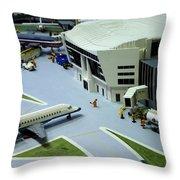 Legoland Dallas IIi Throw Pillow