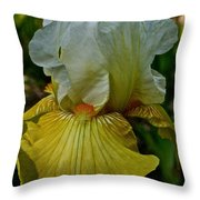 Lemon Petals Throw Pillow