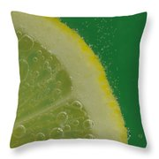 Lemon Slice Soda 2 Throw Pillow