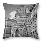 Lemon Squeezer - Academy Of Fine Arts Dresden Throw Pillow