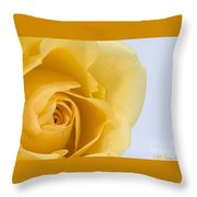 Lemon Twist Throw Pillow